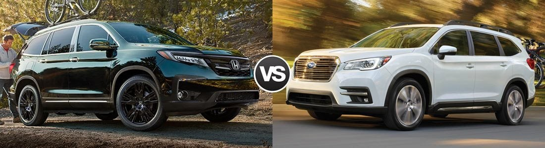 Compare 2019 Honda Pilot vs 2019 Subaru Ascent