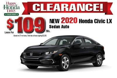 Honda Car Lease >> New Honda Lease Specials Hamilton Honda