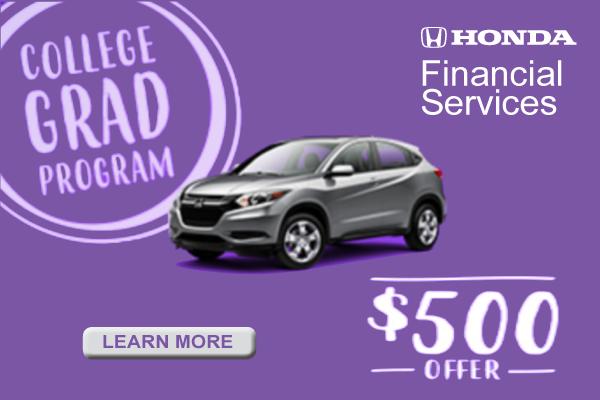 *Phone Number. Submit. $500 Honda College Graduate Bonus Offer